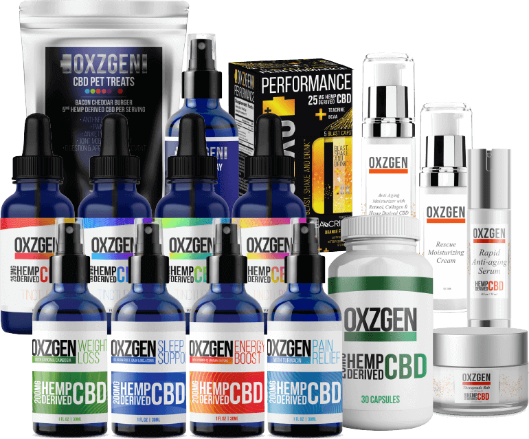 oxzgen products